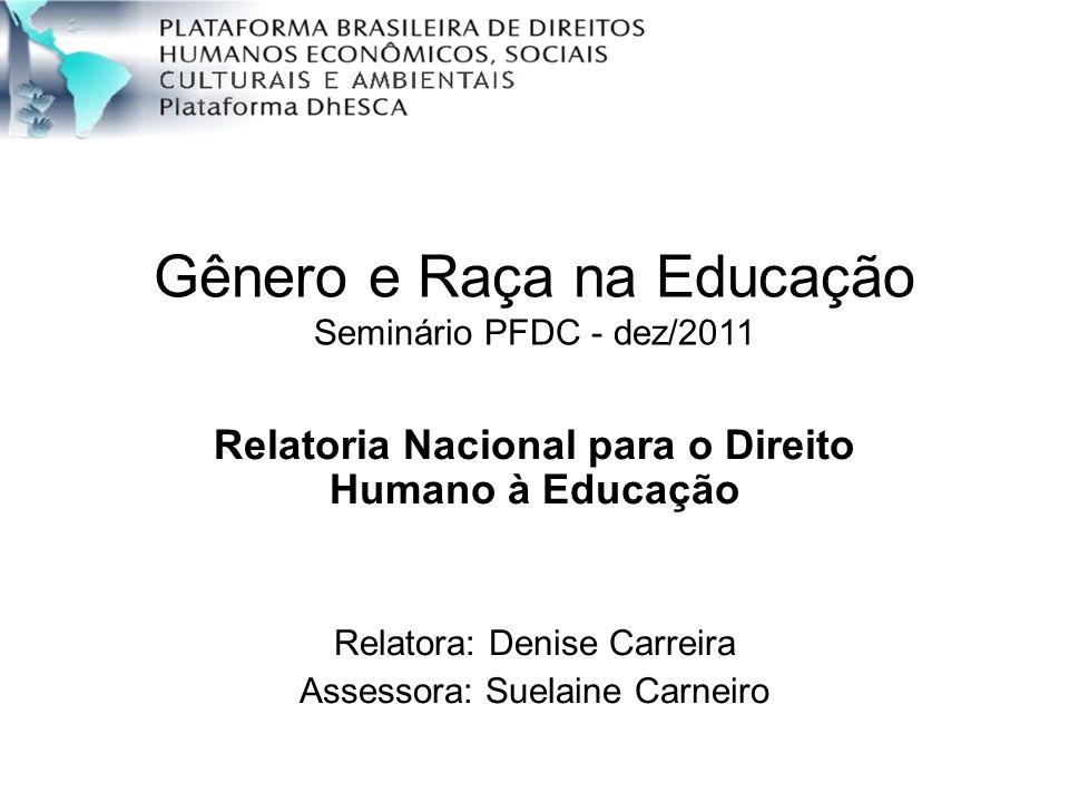 Relatoria Nacional para o Direito Humano à Educação