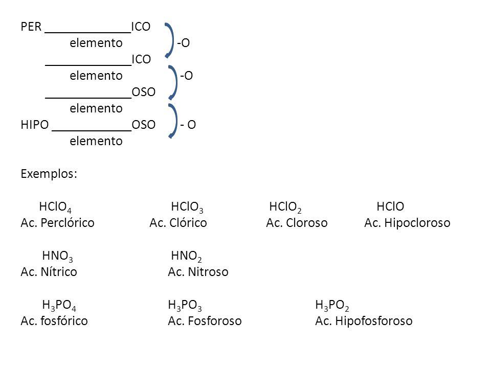 PER _____________ICO elemento -O. _____________ICO. elemento -O. _____________OSO. elemento.