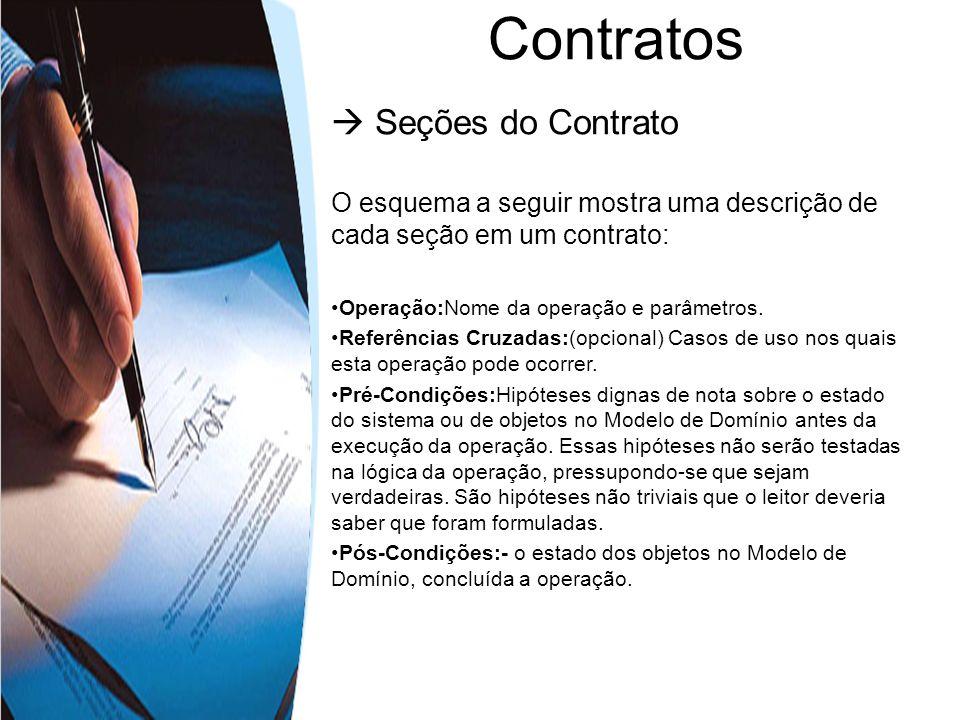 Contratos  Seções do Contrato