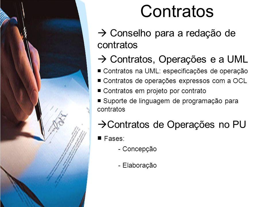 Contratos  Conselho para a redação de contratos