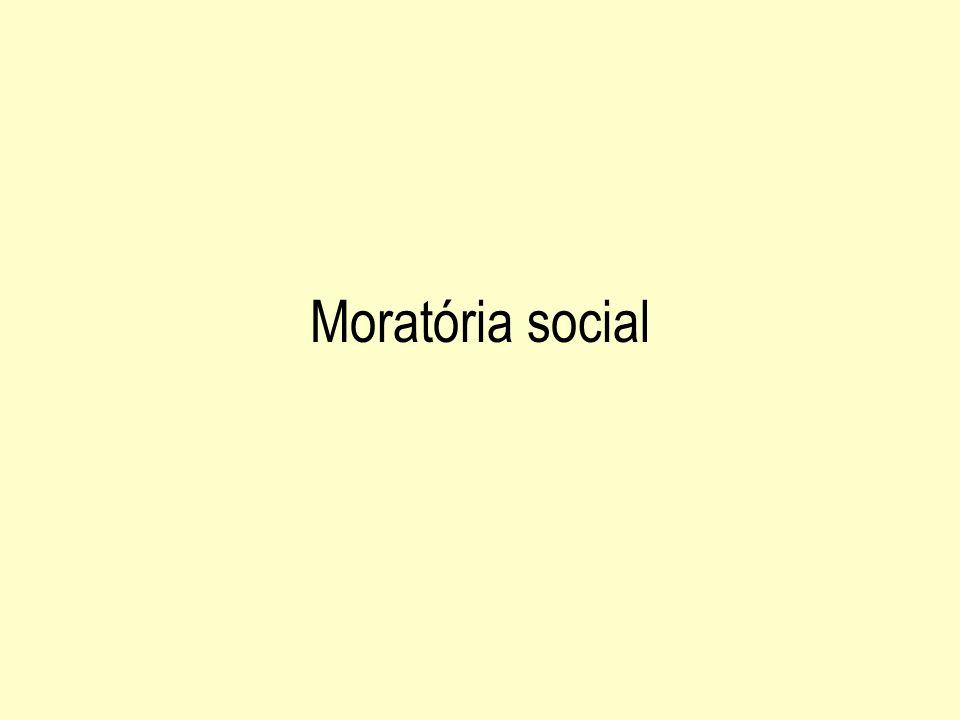 Moratória social