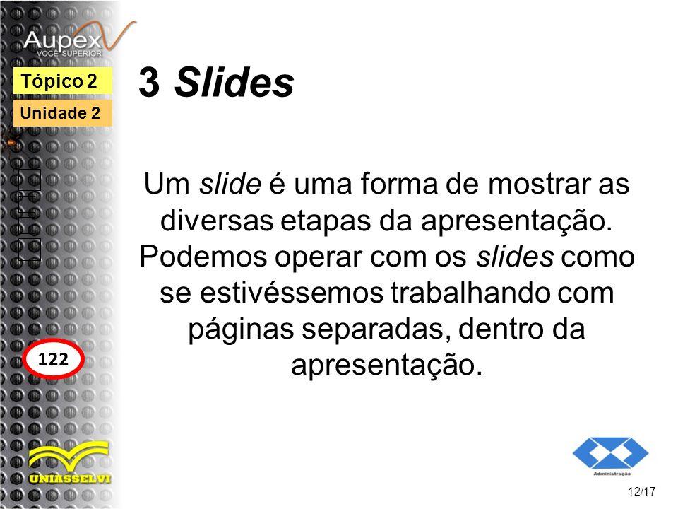 3 Slides Tópico 2. Unidade 2.