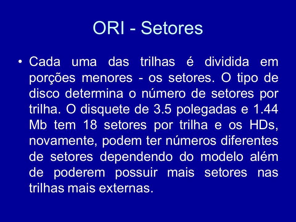 ORI - Setores