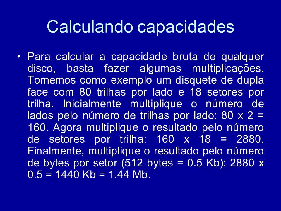 Calculando capacidades