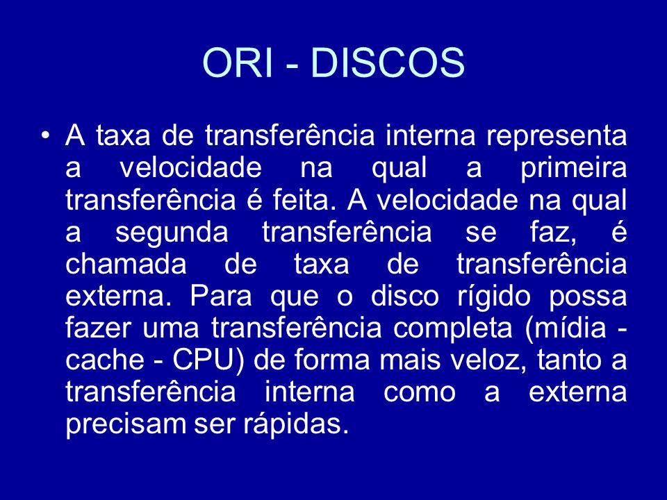ORI - DISCOS