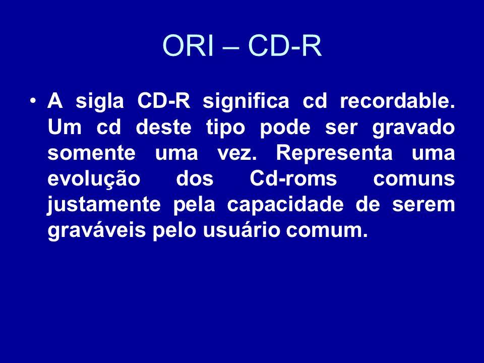ORI – CD-R