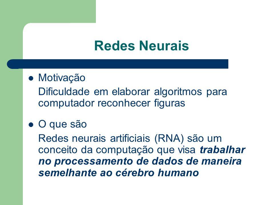 Redes Neurais Motivação