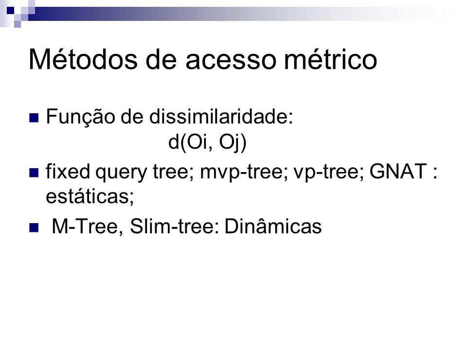 Métodos de acesso métrico