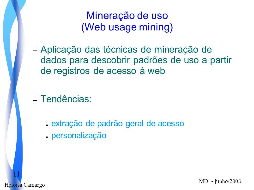 Mineração de uso (Web usage mining)