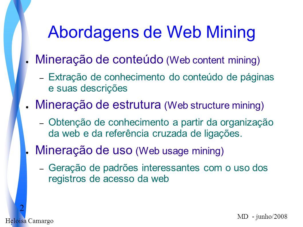 Abordagens de Web Mining