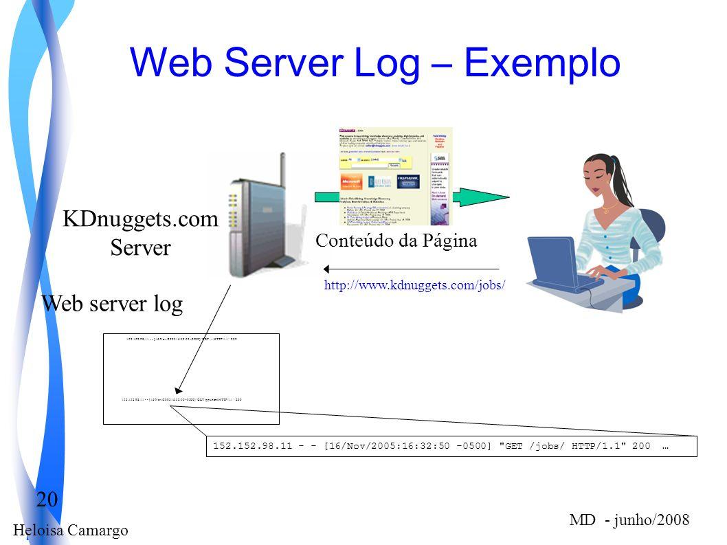 Web Server Log – Exemplo