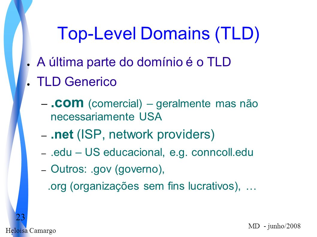 Top-Level Domains (TLD)