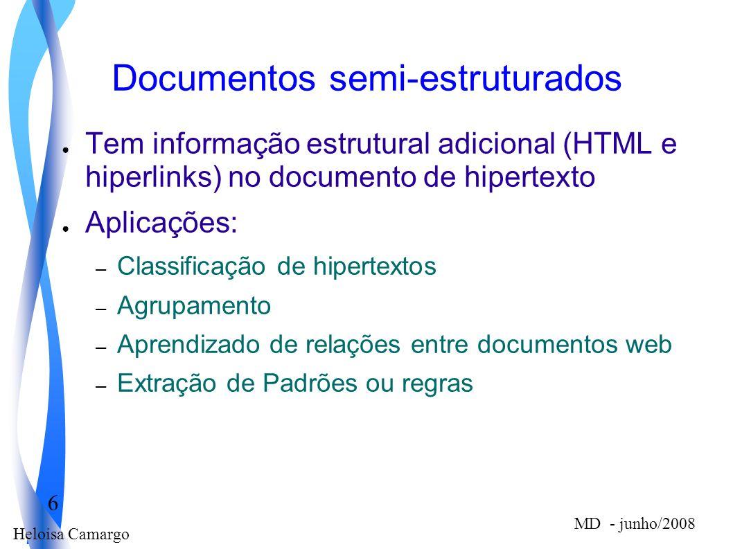Documentos semi-estruturados