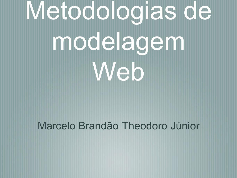 Metodologias de modelagem Web