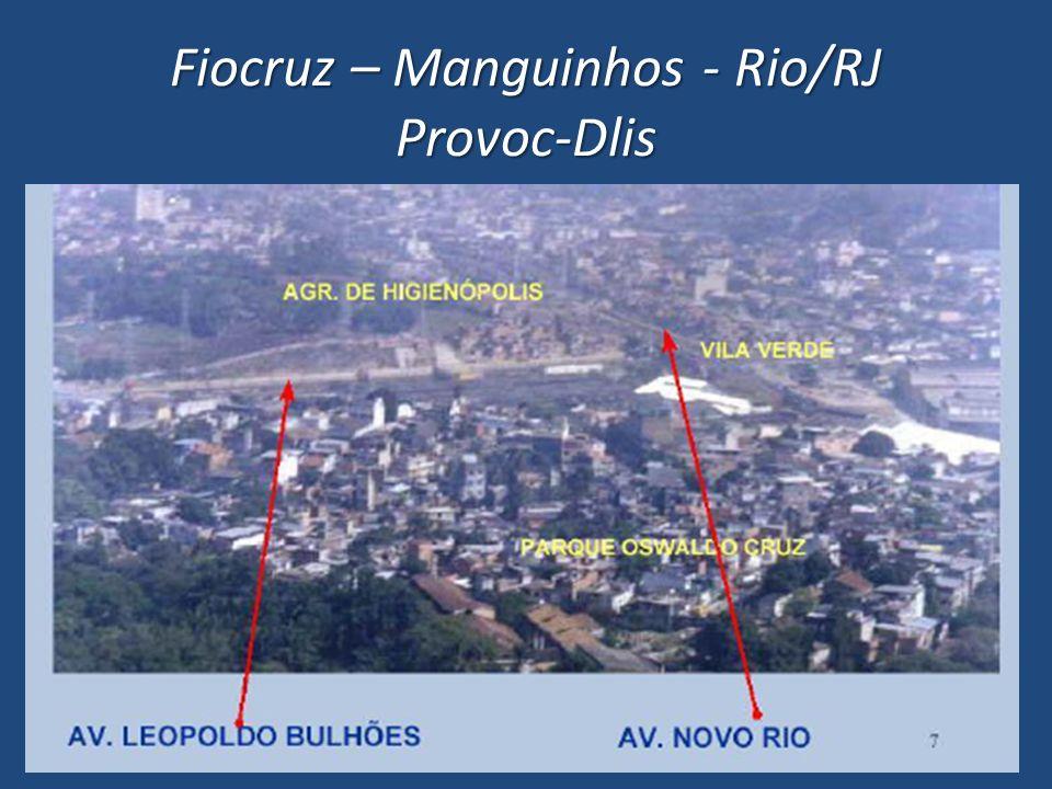 Fiocruz – Manguinhos - Rio/RJ Provoc-Dlis