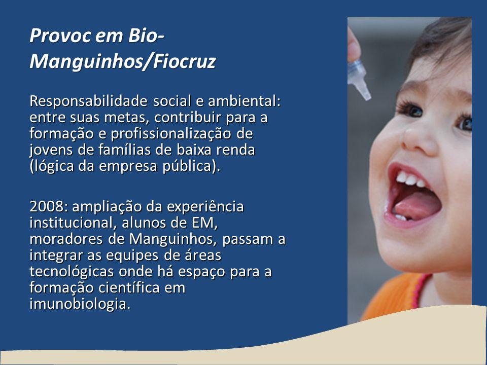 Provoc em Bio-Manguinhos/Fiocruz