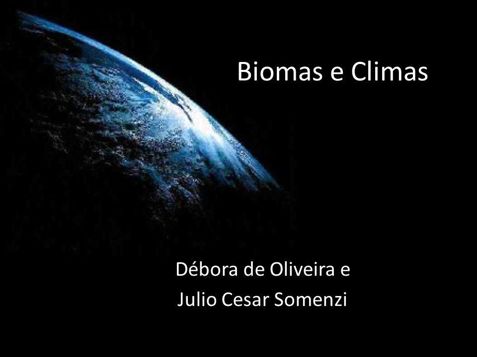 Débora de Oliveira e Julio Cesar Somenzi