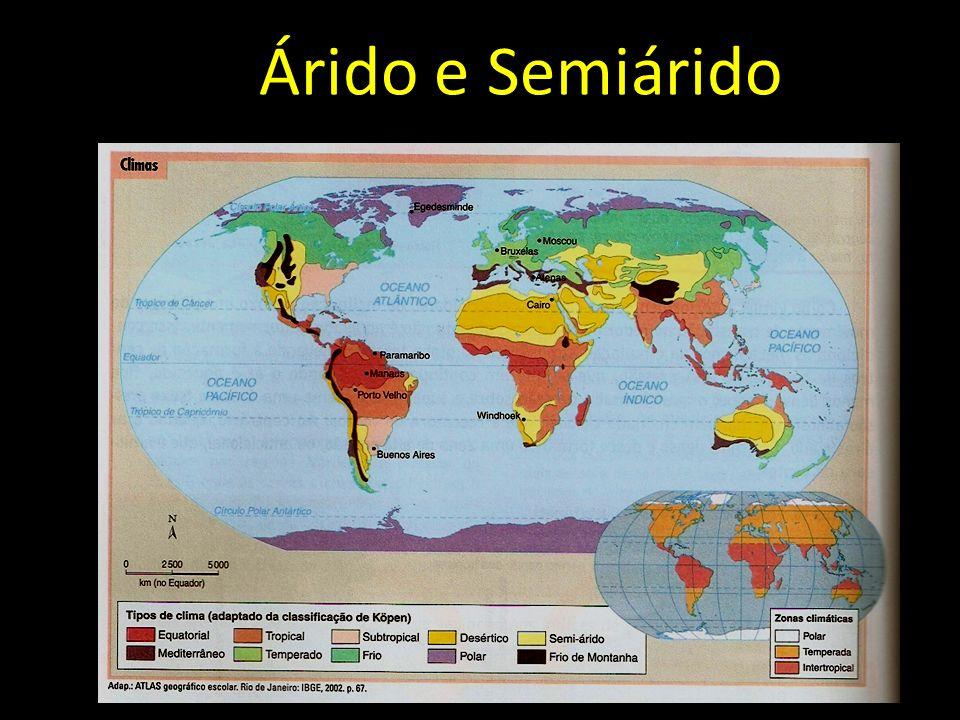 Árido e Semiárido