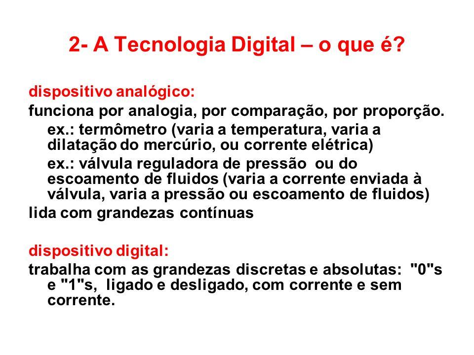 2- A Tecnologia Digital – o que é