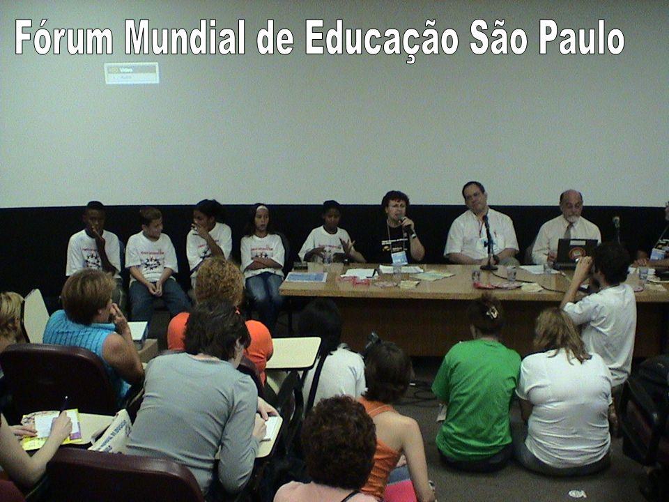 Fórum Mundial de Educação São Paulo