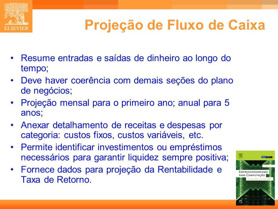 Projeção de Fluxo de Caixa