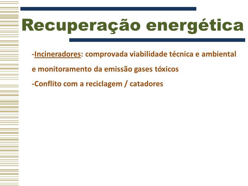 Recuperação energética