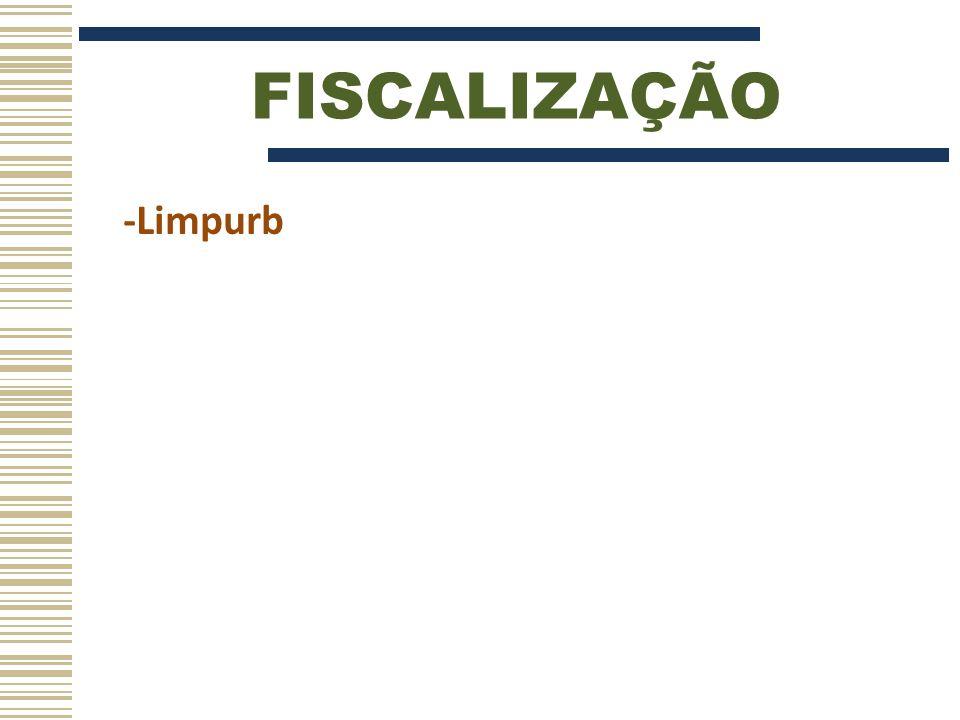 FISCALIZAÇÃO -Limpurb