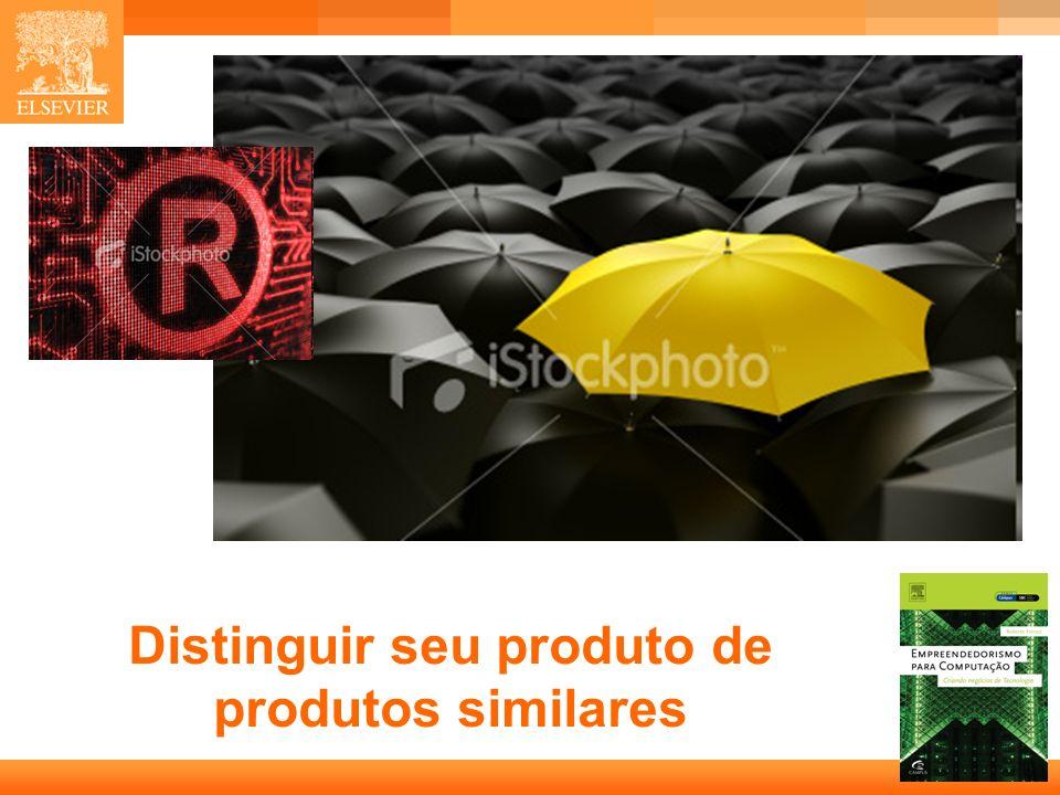 Distinguir seu produto de produtos similares