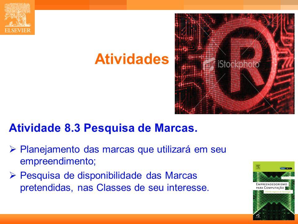 Atividades Atividade 8.3 Pesquisa de Marcas.