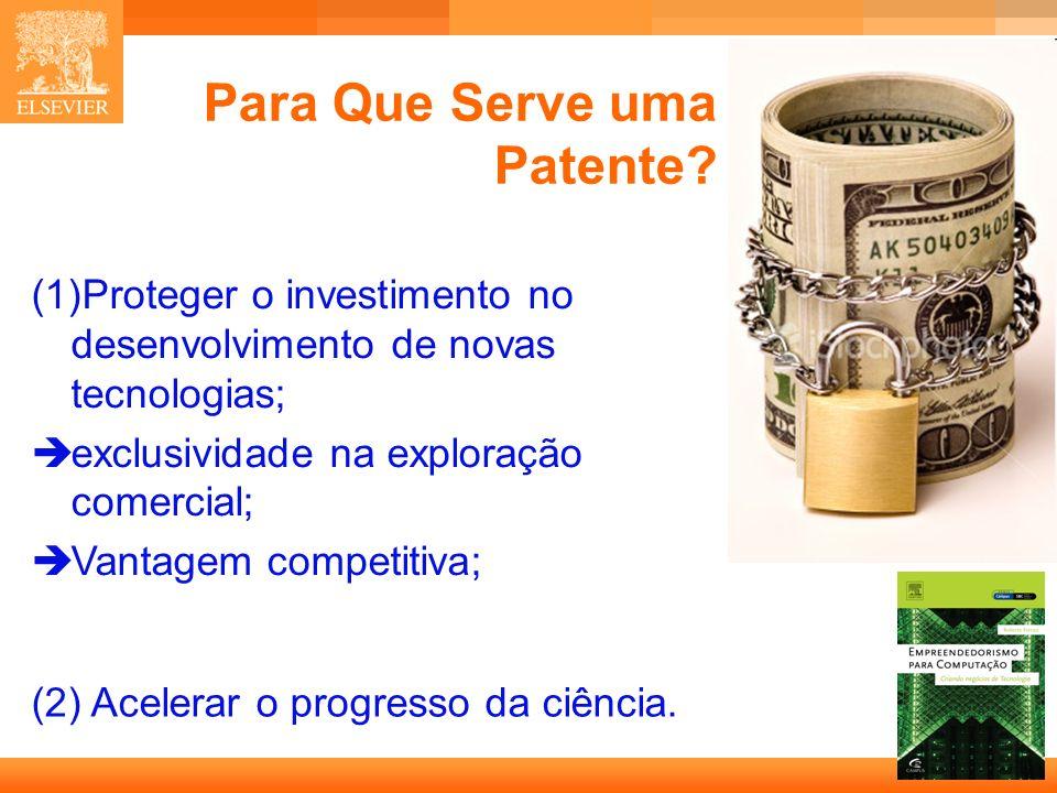 Para Que Serve uma Patente