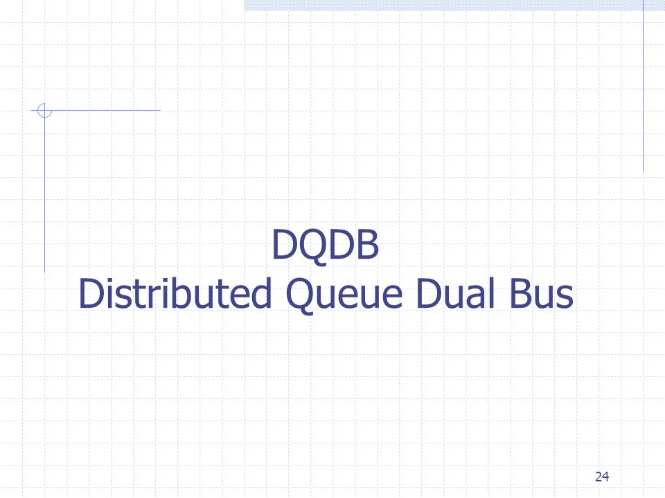 DQDB Distributed Queue Dual Bus