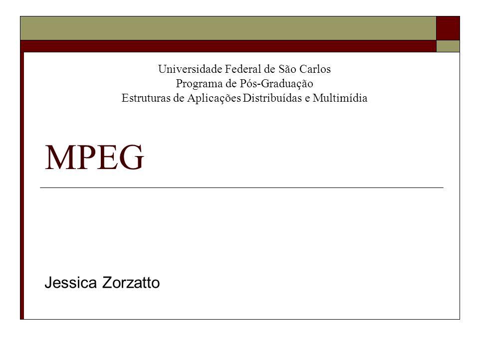 Universidade Federal de São Carlos Programa de Pós-Graduação Estruturas de Aplicações Distribuídas e Multimídia