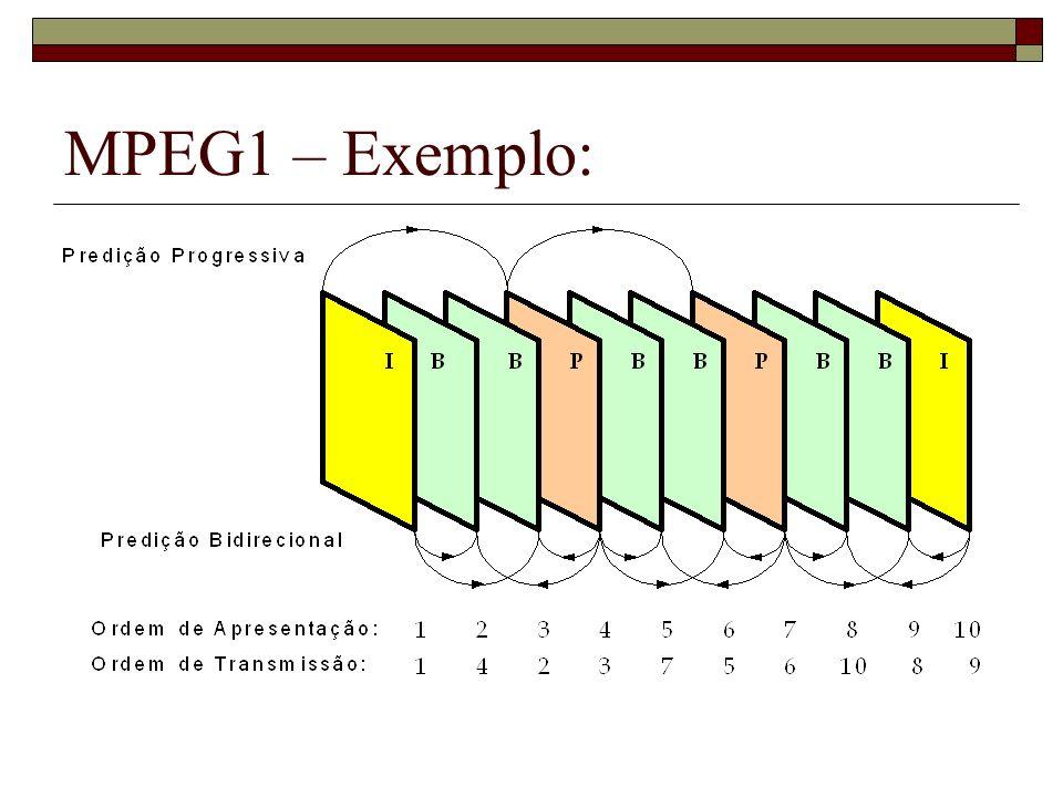 MPEG1 – Exemplo: