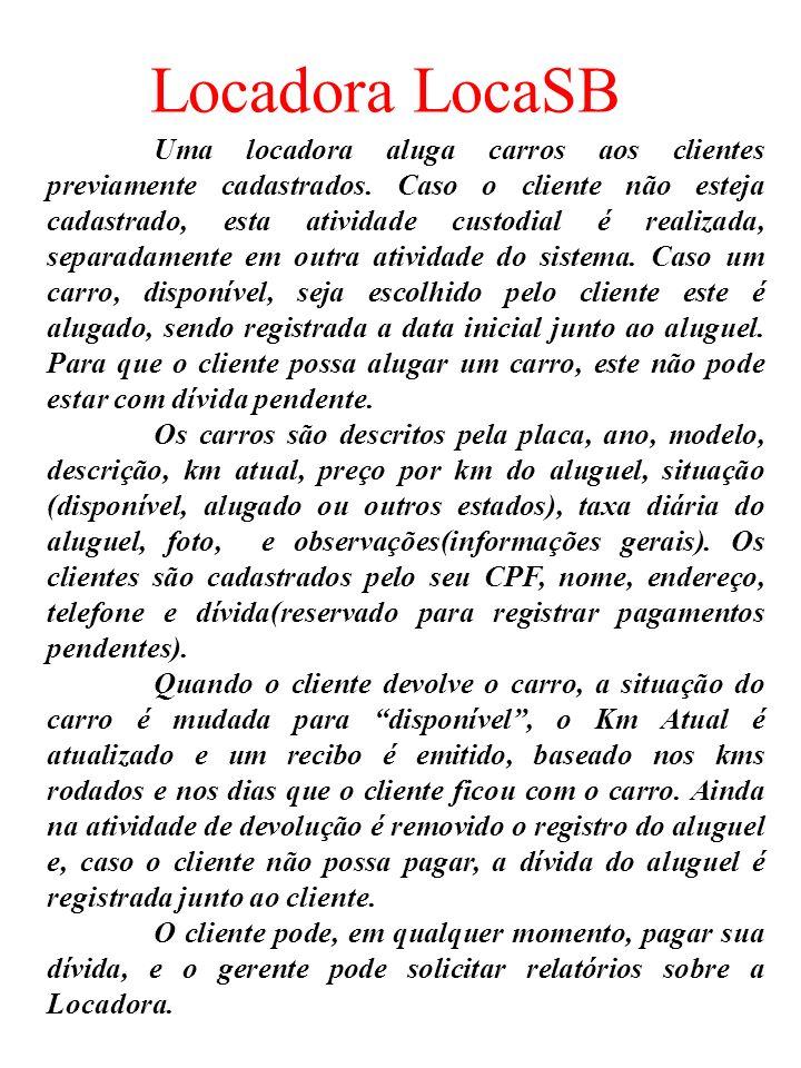 Locadora LocaSB