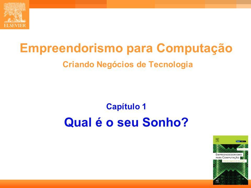 Empreendorismo para Computação Criando Negócios de Tecnologia