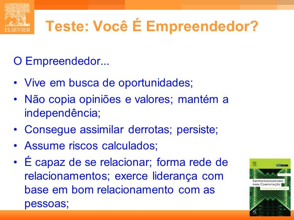 Teste: Você É Empreendedor