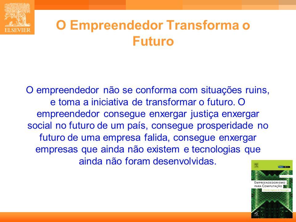 O Empreendedor Transforma o Futuro
