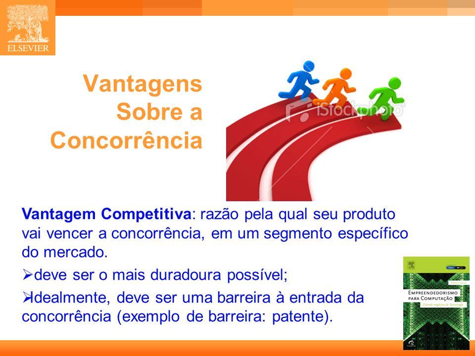 Vantagens Sobre a Concorrência
