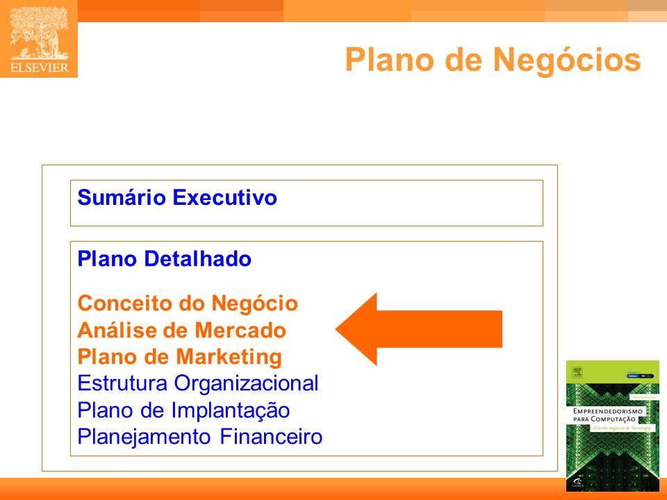 Plano de Negócios Sumário Executivo Plano Detalhado
