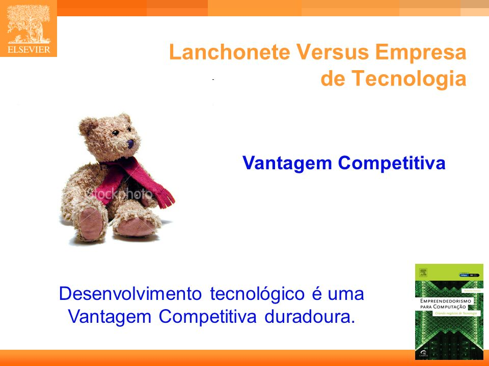 Lanchonete Versus Empresa de Tecnologia