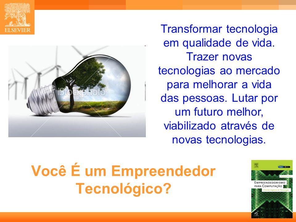 Você É um Empreendedor Tecnológico