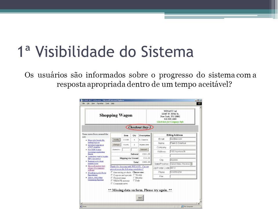 1ª Visibilidade do Sistema