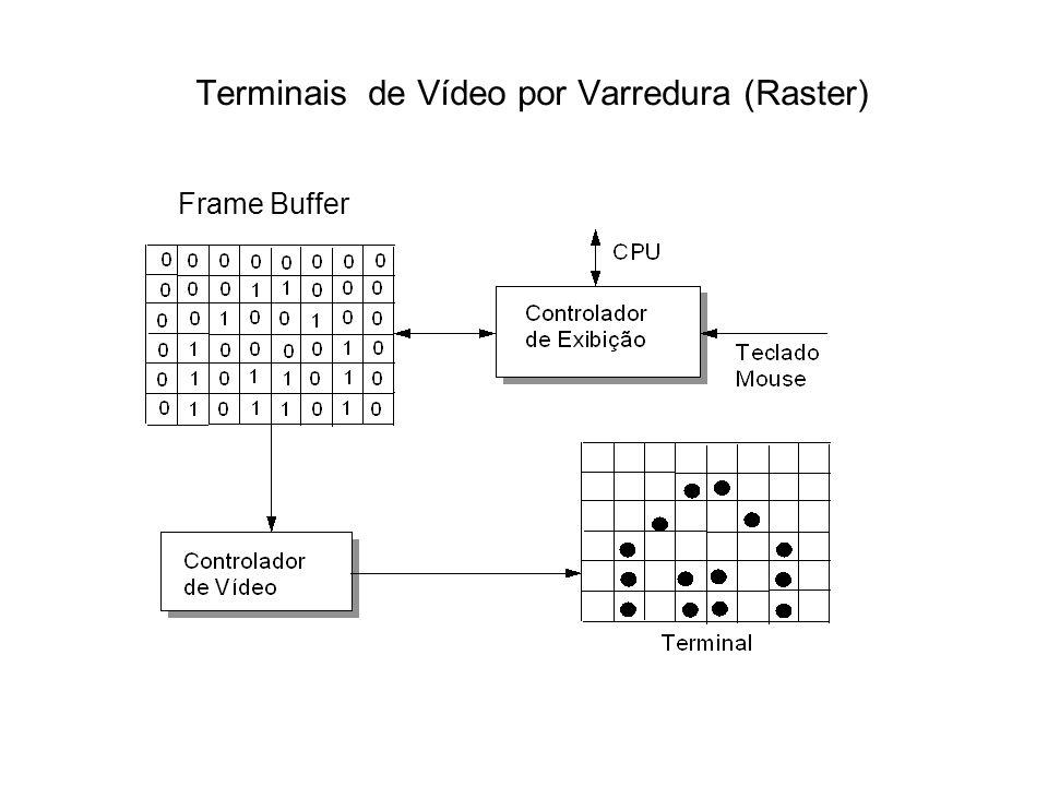 Terminais de Vídeo por Varredura (Raster)