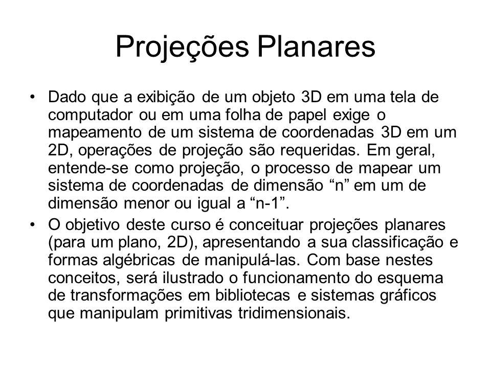 Projeções Planares