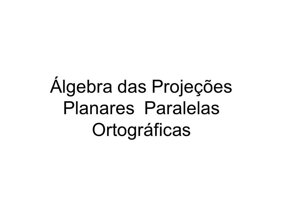 Planares Paralelas Ortográficas