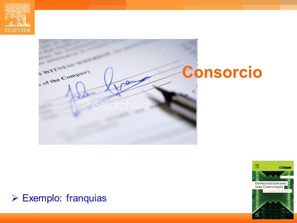 Consorcio Exemplo: franquias