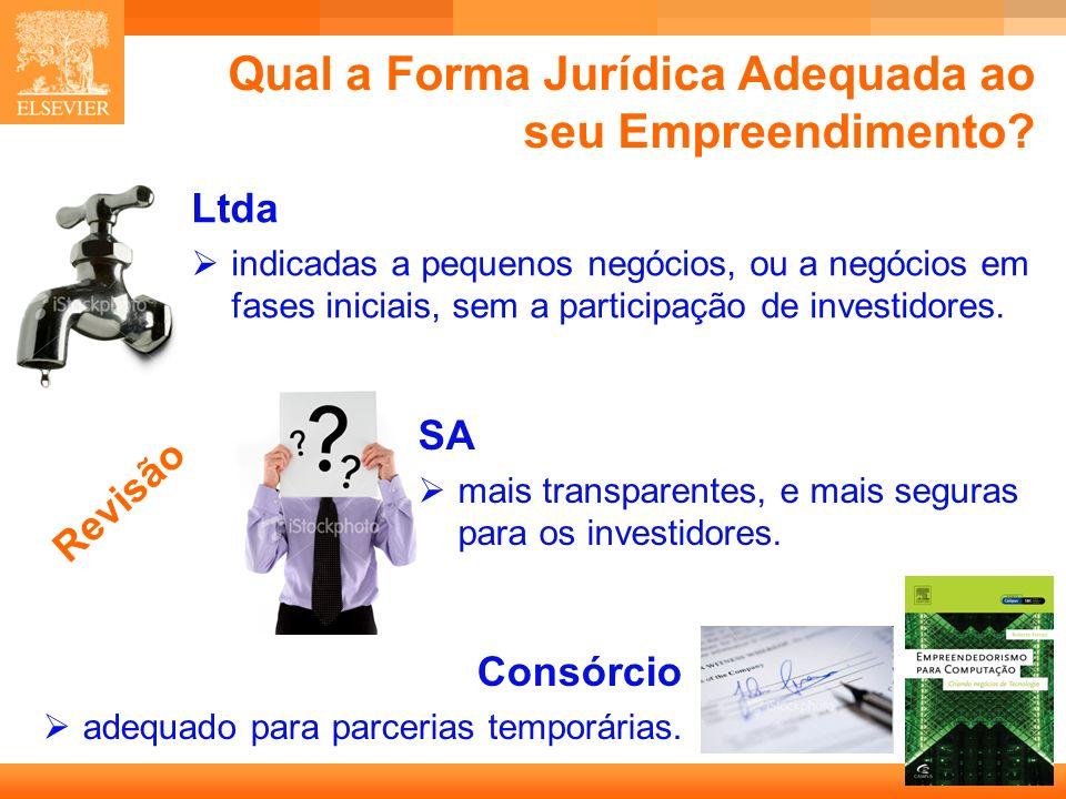 Qual a Forma Jurídica Adequada ao seu Empreendimento