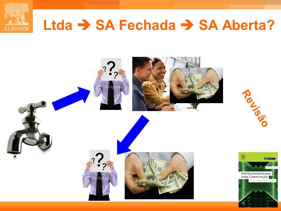 Ltda  SA Fechada  SA Aberta