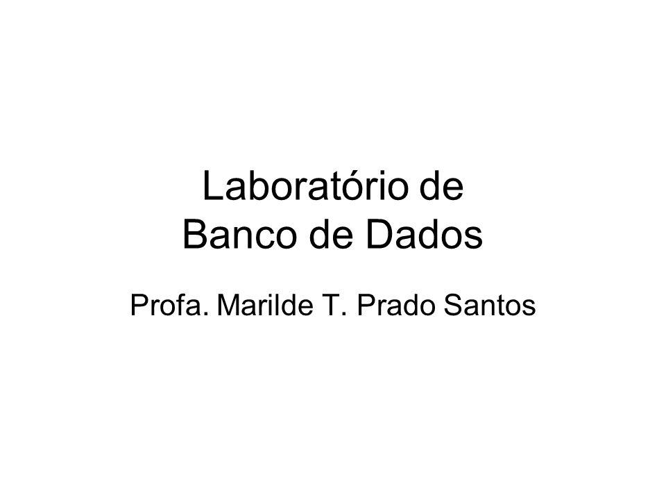 Laboratório de Banco de Dados