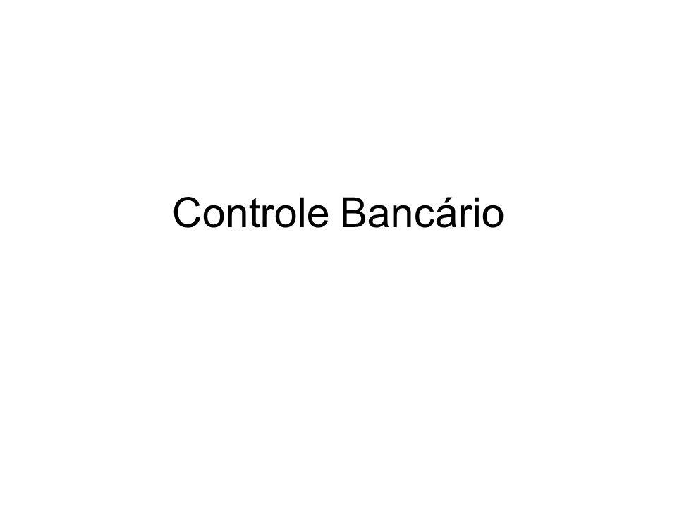 Controle Bancário